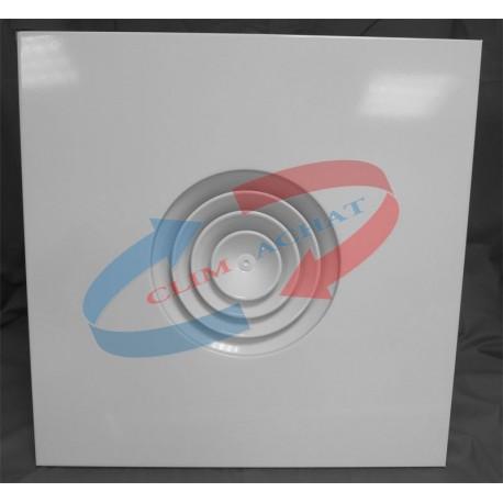 Diffuseur modulaire circulaire avec registre papillon 250