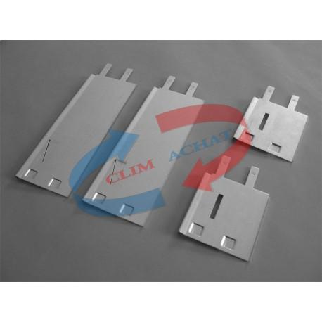 Contre-cadre métallique de L500xH400 Prof. 98 mm