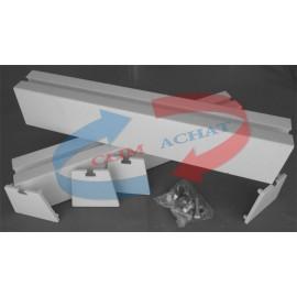 Support de sol pour groupes extérieurs de climatisation 450mm.