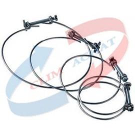 Colliers de serrage X10 Diam.160