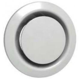 Bouche plastique  Ø 200 mm blanc réglable (BEIP)