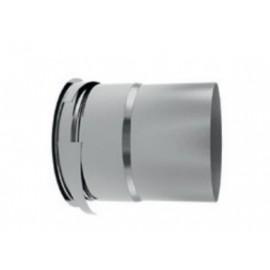 MPBIR : Manchette placo à griffes Ø 125 métallique hauteur 150 mm pour (BIR) (BOREA)
