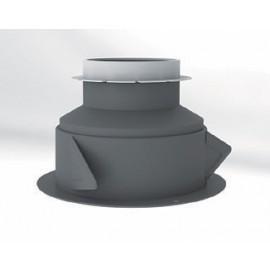 Accessoires ALIZÉ hygro / Manchette placo à joint  - Ø 125 réduit 80